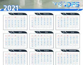 #53 for create a 2021 calendar for print by habibsofi78
