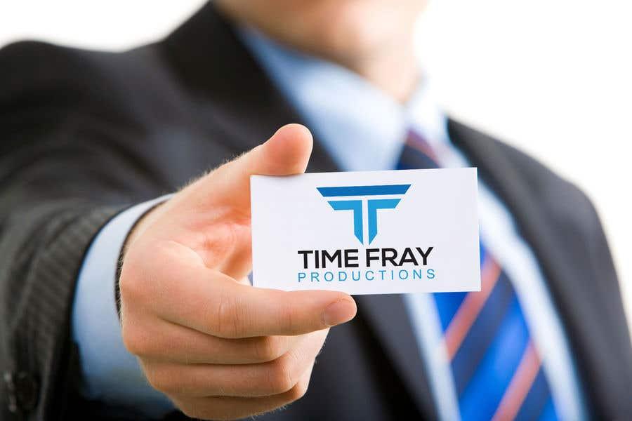 Penyertaan Peraduan #                                        119                                      untuk                                         Time Fray Productions Logo