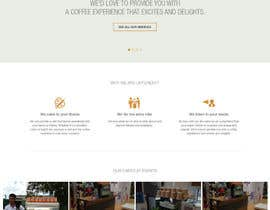 #24 para Design a Website Mockup for a Mobile Coffee Business de binaflex