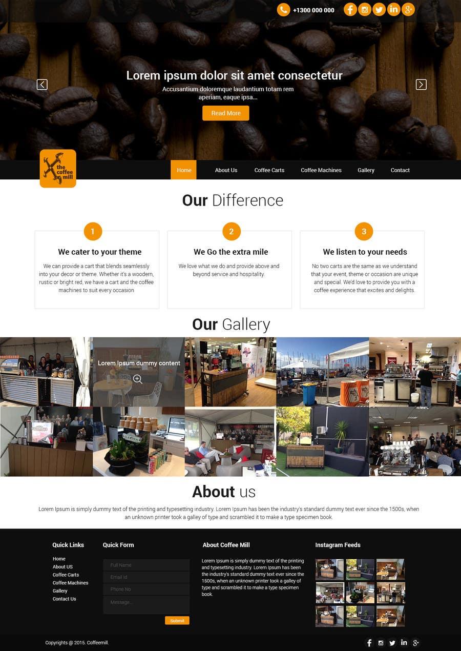 Konkurrenceindlæg #                                        16                                      for                                         Design a Website Mockup for a Mobile Coffee Business