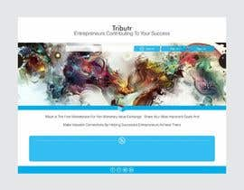 #13 untuk Website Layout and Design for New Mega-Platform: Tributr oleh barinix