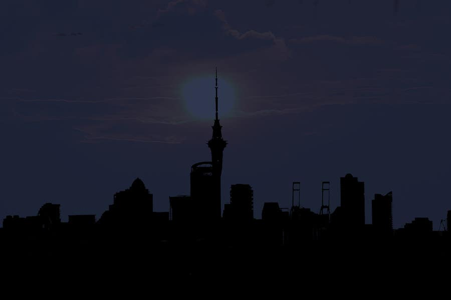 Contest Entry #                                        4                                      for                                         SKYLINE SILHOUETTE