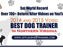 #78 za Design a Banner for Dog Training Business od Technolinks