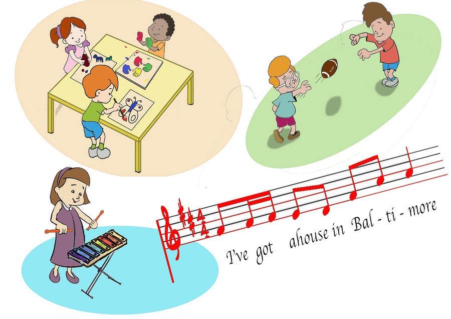 Kilpailutyö #33 kilpailussa illustrations for books, posters, preschool activities