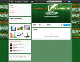 #8 for Twitter Background Design for Financial/Stocks/Trading Tool Website af Utnapistin