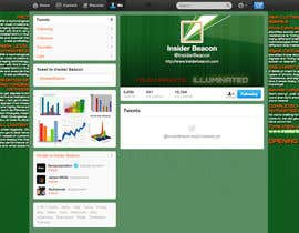#9 for Twitter Background Design for Financial/Stocks/Trading Tool Website af Utnapistin