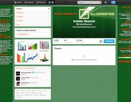 #15 for Twitter Background Design for Financial/Stocks/Trading Tool Website by Utnapistin