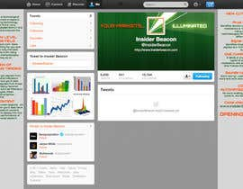 #18 for Twitter Background Design for Financial/Stocks/Trading Tool Website by Utnapistin