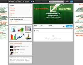 #24 for Twitter Background Design for Financial/Stocks/Trading Tool Website af Utnapistin
