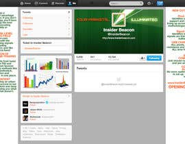 #25 for Twitter Background Design for Financial/Stocks/Trading Tool Website by Utnapistin