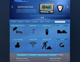 #5 para Website CONCEPT Design BluFi Wireless USA por oksrider