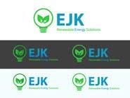 Deign a Logo and Business Card for EJK Renewable Energy Solutions için Logo Design25 No.lu Yarışma Girdisi