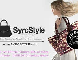 nº 6 pour Logo and Website Banner Design for a Handbag Website par YogNel