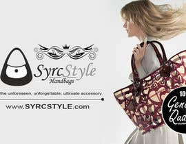 YogNel tarafından Logo and Website Banner Design for a Handbag Website için no 15