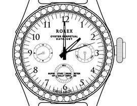 #8 cho Need to raw illustration of a Rolex watch bởi thedubliner