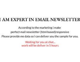 #10 for Marketing Email templates by Zetaslns