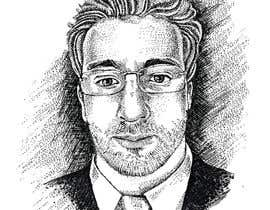 #15 for Create a Stipple Portrait / Wall Street Journal Style Portrait by kunjanpradeep