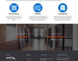 #1 for Website Header and Background Design, minor color & footer image changes, info page content design by doubledude