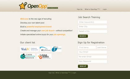 #5 for Website Design for OpenOpp.com - 2 pages only - Any format by debdas0278