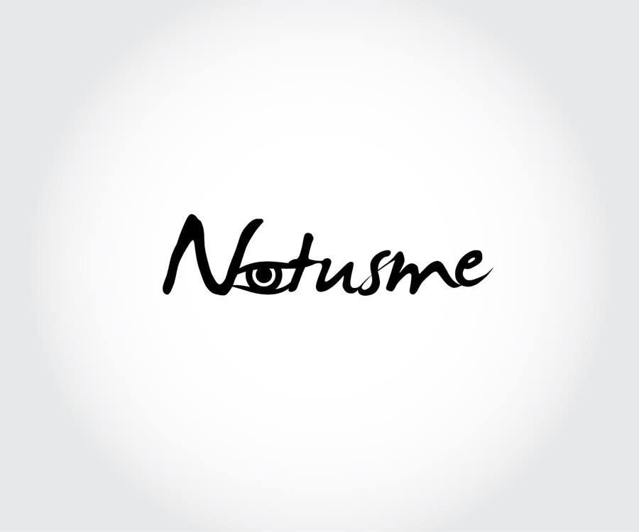 Konkurrenceindlæg #745 for Design a Logo for Notusme Apparel