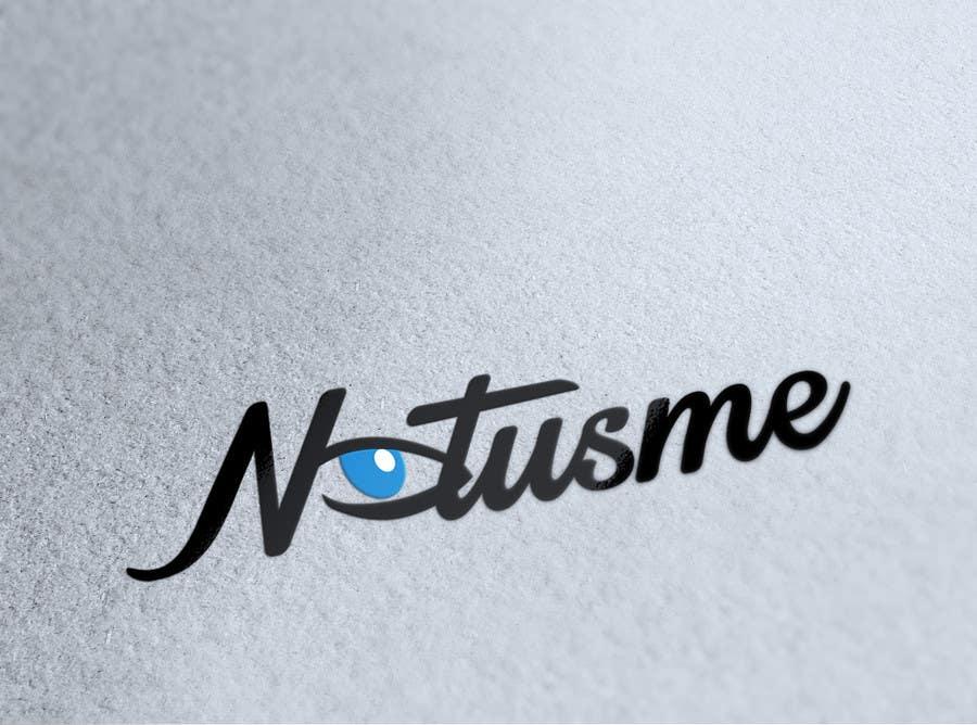 Konkurrenceindlæg #776 for Design a Logo for Notusme Apparel