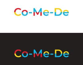 #123 for Make a youtube channel logo:  Co-Me-De   (Comedy channel) - 28/12/2020 02:38 EST by Akashpal2051