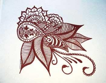 Konkurrenceindlæg #8 for I need some Graphic Design for Mehendi artwork illustration