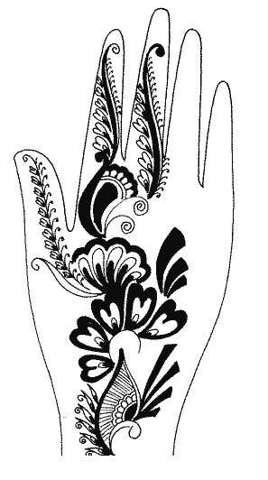 Konkurrenceindlæg #9 for I need some Graphic Design for Mehendi artwork illustration