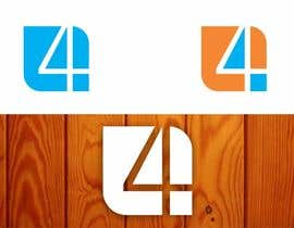 #29 for Design a Logo with number 4 by creazinedesign