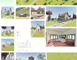 ethmksp11 tarafından Small boutique campsite design - 3d exterior design including landscape for a fancy camp ground (glamping) için no 5