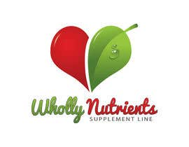 #181 for Design a Logo for a Wholly Nutrients supplement line by habib346