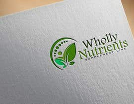 #168 for Design a Logo for a Wholly Nutrients supplement line by stojicicsrdjan