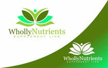 Graphic Design Contest Entry #269 for Design a Logo for a Wholly Nutrients supplement line