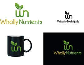 #196 for Design a Logo for a Wholly Nutrients supplement line by emptyboxgraphics