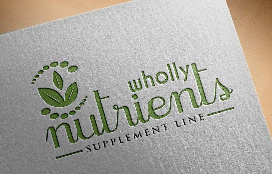 Contest Entry #355 for Design a Logo for a Wholly Nutrients supplement line