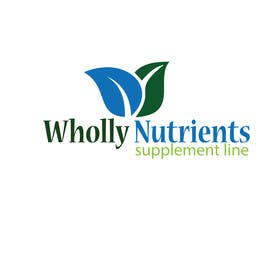 #283 for Design a Logo for a Wholly Nutrients supplement line by sgsicomunicacoes