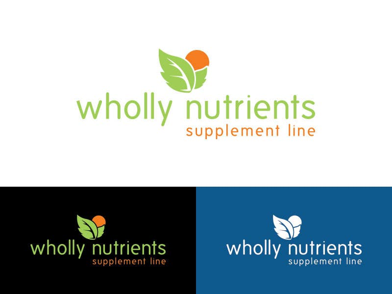 Contest Entry #289 for Design a Logo for a Wholly Nutrients supplement line