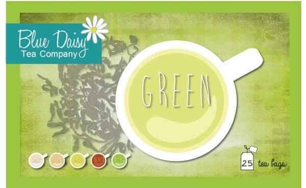 Inscrição nº 12 do Concurso para Create Print and Packaging Designs for Blue Daisy Tea Company
