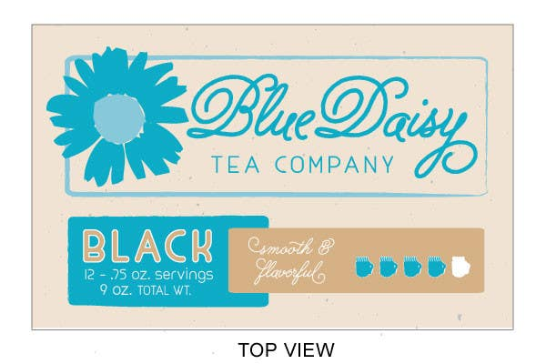 Contest Entry #                                        5                                      for                                         Create Print and Packaging Designs for Blue Daisy Tea Company