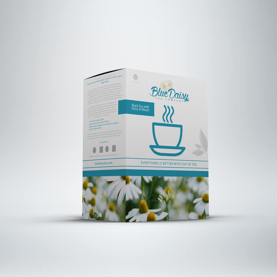 Contest Entry #                                        30                                      for                                         Create Print and Packaging Designs for Blue Daisy Tea Company
