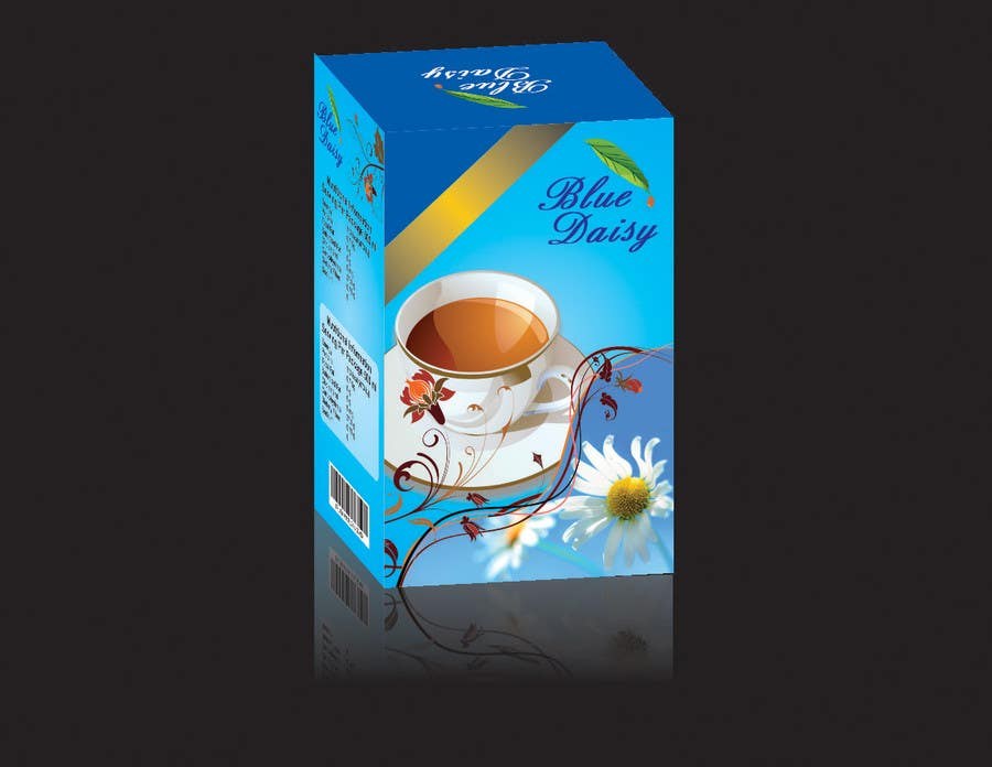 Contest Entry #                                        1                                      for                                         Create Print and Packaging Designs for Blue Daisy Tea Company