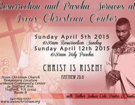 #11 for Design an Advertisement for Easter Flyer by Parnasus