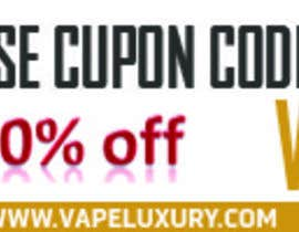 #13 para Design 350 x 100 Banner for Vape E-Cig Juice website por vkandomedia