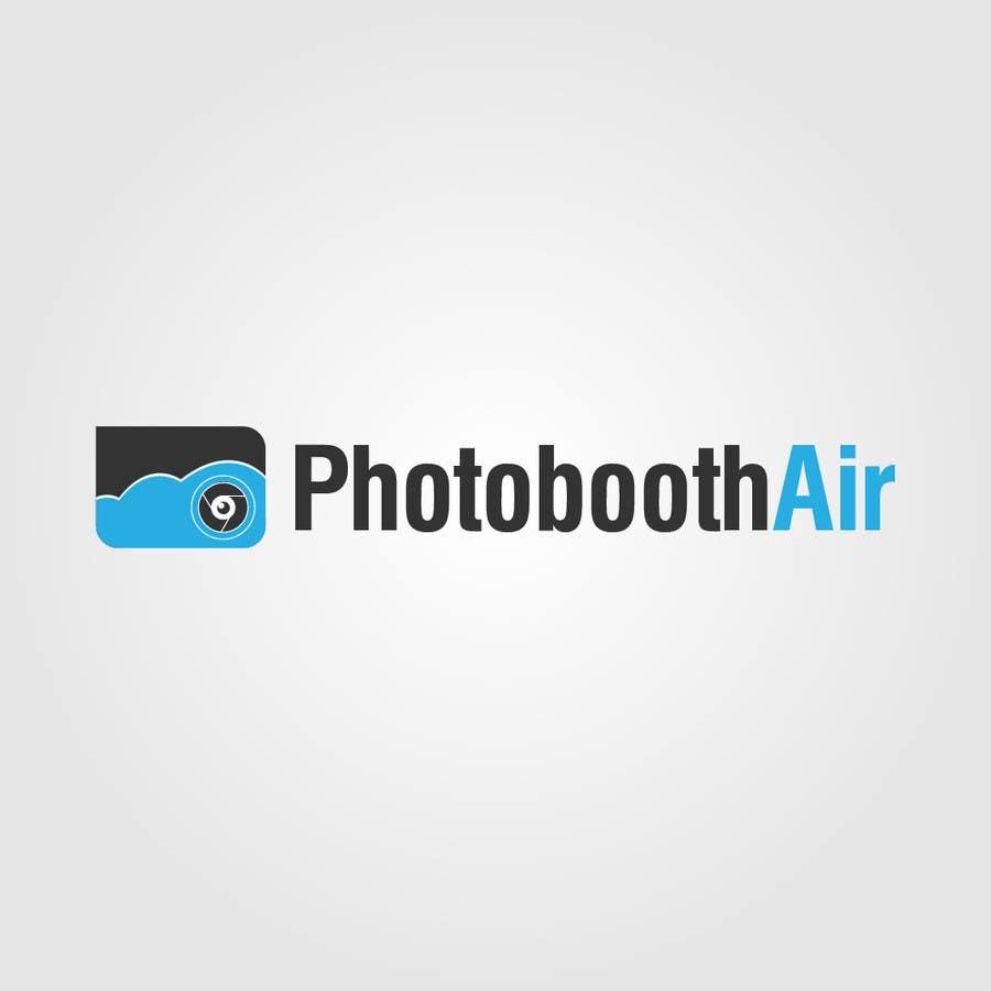 Proposition n°                                        40                                      du concours                                         Design a Logo for PhotoBoothAir