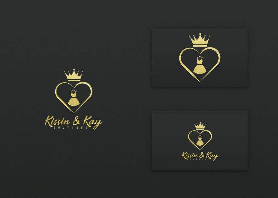 Konkurrenceindlæg #                                        90                                      for                                         Company logo for Kissin & Kay Boutique