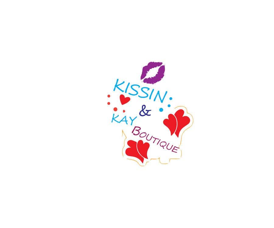 Konkurrenceindlæg #                                        111                                      for                                         Company logo for Kissin & Kay Boutique
