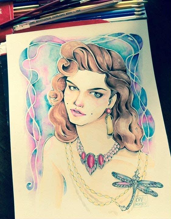 Contest Entry #                                        4                                      for                                         Mystique Brand Illustration