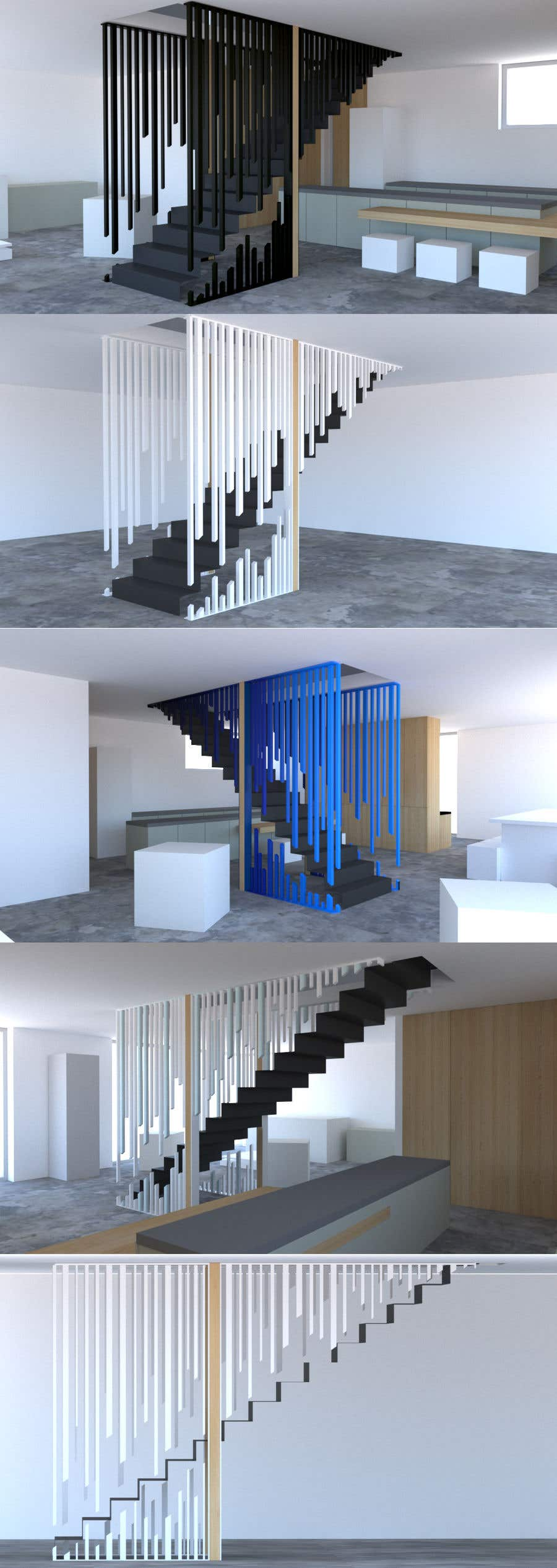 Proposition n°                                        32                                      du concours                                         Designing Staircase