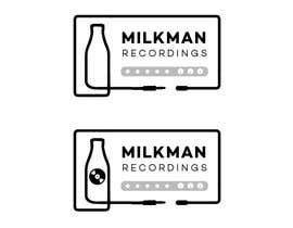 #22 untuk Create a logo and business card design for Milkman Recordings. oleh askalice
