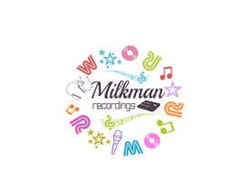 #27 untuk Create a logo and business card design for Milkman Recordings. oleh ryreya